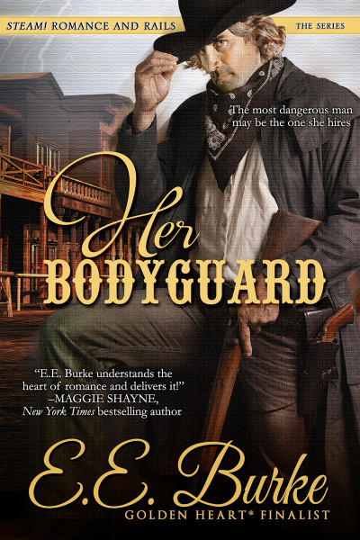 Her Bodyguard, Book 1, Steam! Romance and Rails